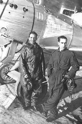 Los capitanes Jiménez e Iglesias (Fuente: Ejército del Aire)