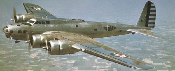 Boeing B-17C en vuelo. Pueden observarse las semejanzas con el Stratoliner, así como la distinta línea de ambos fuselajes (Fuente: areamilitar.net)