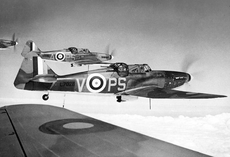 Defiants Mk II del 264º Escuadrón