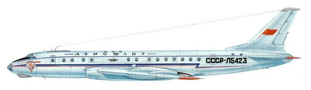 Tupolev Tu-104CCCP