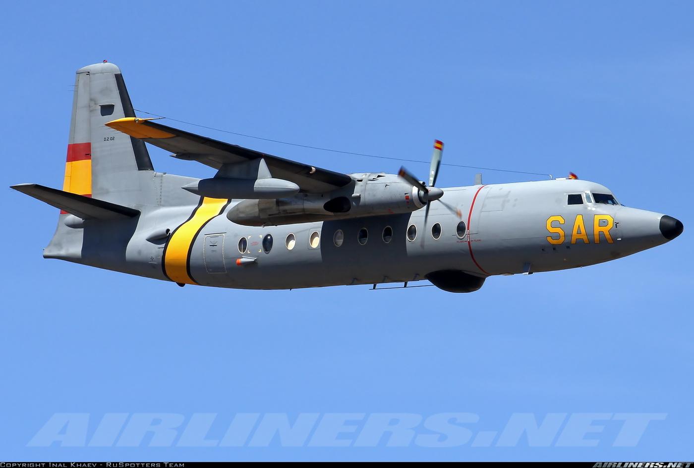 España ha operado hasta fechas muy recientes la versión de rescate y salvamento marítimo F.27 Maritime (Fuente: Inal Khaev. Ruspotters Team / Airliners.net)