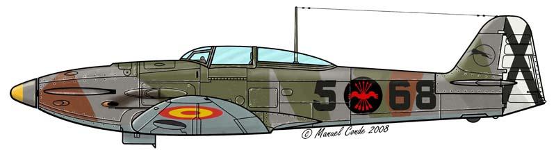 Heinkel He 112B 5-68