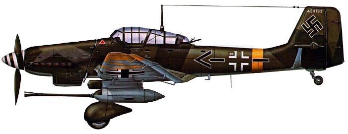 Stuka Junkers Ju 87 G-1