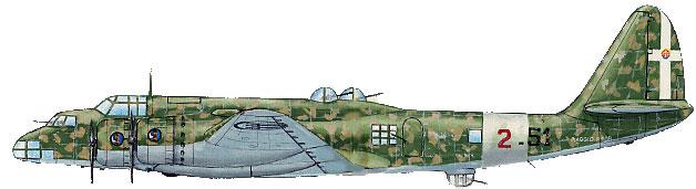 Piaggio P.108, fortaleza volante italiana