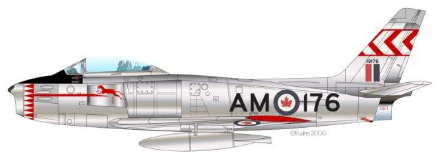 Canadair CL-13 Sabre RCAF (Fuente: Rudnei Dias da Cunha)