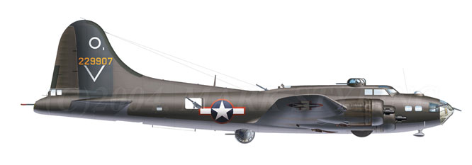 Boeing B-17F Flying Fortress USAAF