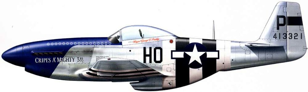 P-51D Mustang Cripes A´Mighty