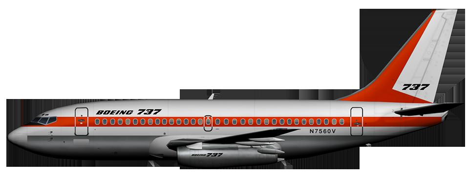 Boeing 737-200Adv (N7560V) Boeing