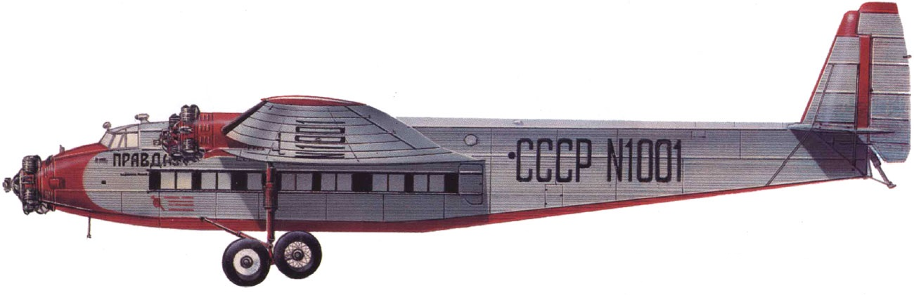 Tupolev ANT-14 CCCPN1001 (© O.M.Kartashov)