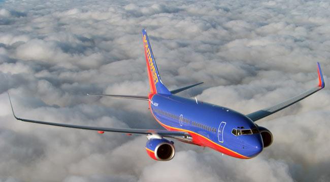 Un Boeing 737-700 Next Generation de Southwest. La aerolínea lowcost norteamericana es la principal usuaria de 737 del mundo, con una flota de más de 500 aparatos de las series Classic y NG (fuente: www.aviationpartners.com)