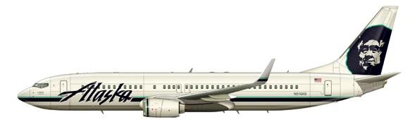 Boeing 737-800 Alaska Airlines