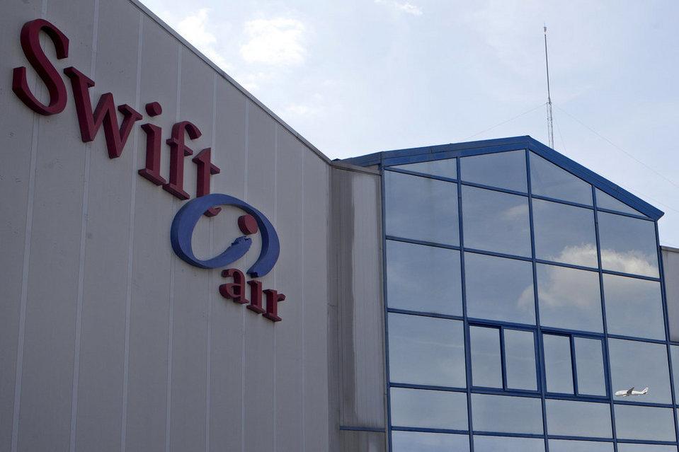 Oficinas centrales de Swiftair en Madrid. (fuente: La Vanguardia.com)