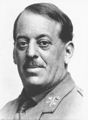 El General Sanjurjo, en los tiempos de la Guerra de África. Sus éxitos en la pacificación del territorio rifeño le valieron los reconocimientos por parte del Rey Alfonso XIII