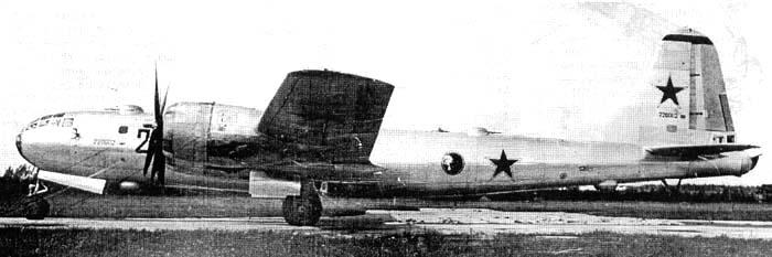"""""""202 Black"""", el segundo de los Tu-4 construidos en Kazán"""