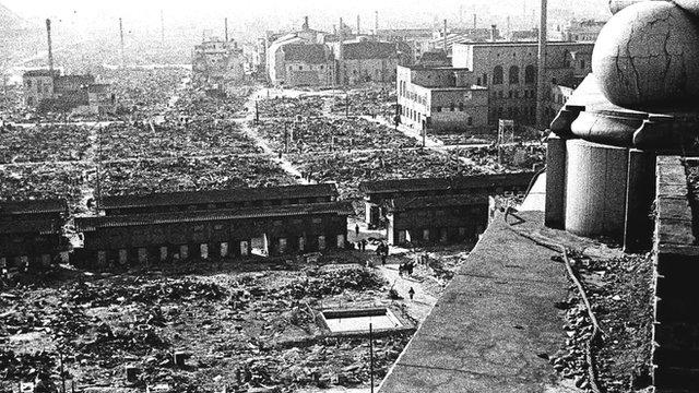 La ciudad quedó arrasada casi en su totalidad (http://news.bbcimg.co.uk)