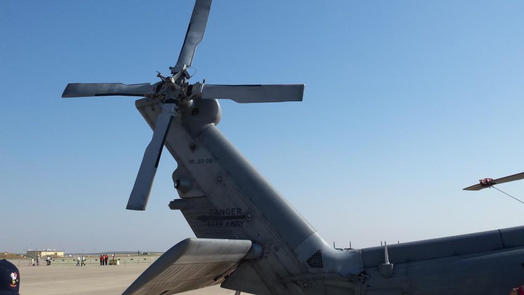 Rotor de cola del Sikorsky SH-60B de la Armada