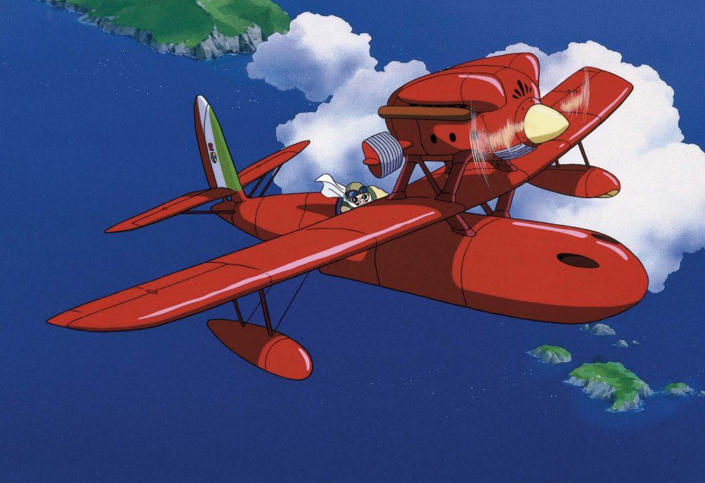 Porco Rosso y su Savoia S.21