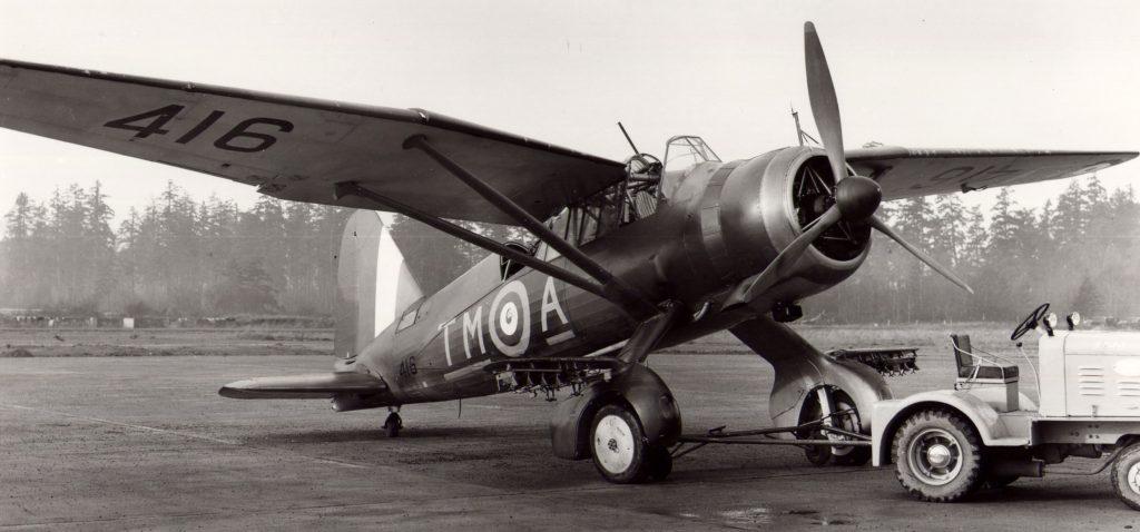 Muchos Lysander operaron en la RCAF (Fuerza Aérea Canadiense), como este Mk. II, fotografiado en Patricia Bay, Columbia Británica, el 1 de noviembre de 1941 (RCAF / http://silverhawkauthor.com/)